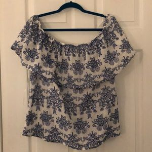 Adiva Size XL Off The Shoulder Top